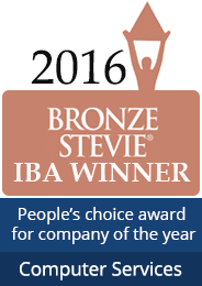 Bronze Stevie IBA winner computer services