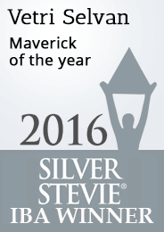 Vetri Maverick of the year