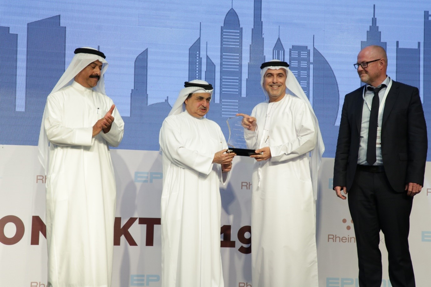 His Excellency Muammar Al Rukhaimi  for Excellence in Technology