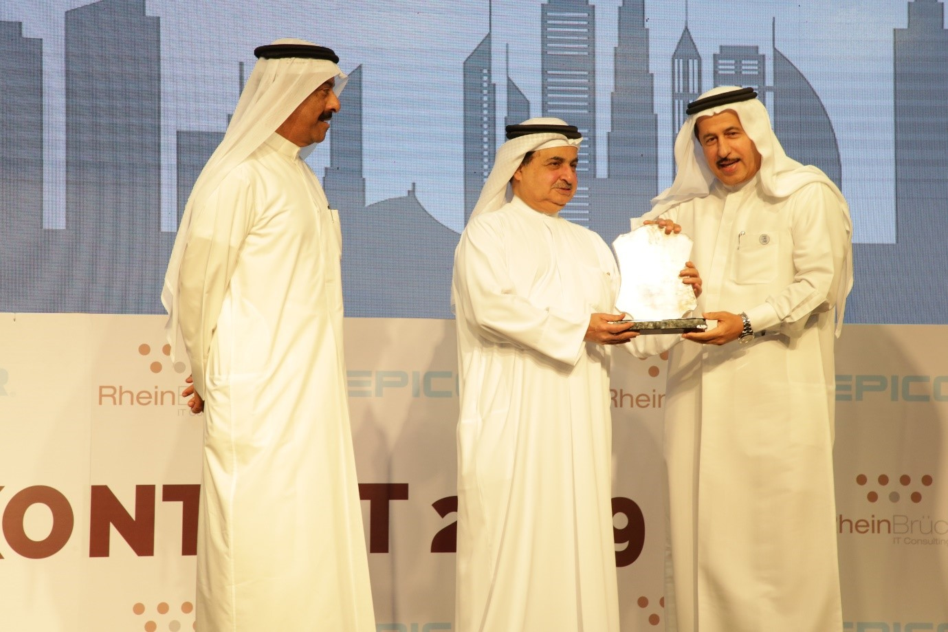 His Excellency Abdulqader Obaid Ali for Excellence in Technology